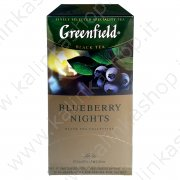 "Чай ""Greenfield"" Blueberry nights ""(25*1,5г) №996"